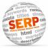 SERP - страница выдачи результатов поиска, иначе поисковая выдача