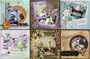 Скрапбукинг - рукоделие для женщин на фотоальбомах