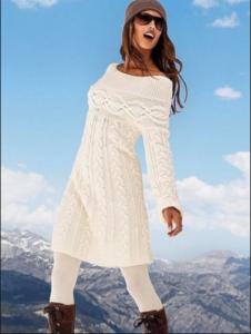 Вязаная одежда пользуется популярностью из-за легкости и удобства