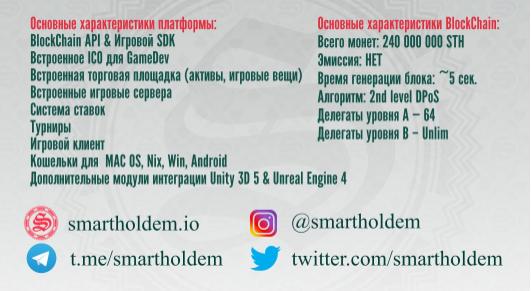 SmartHoldem прежде всего децентрализована и задумана как платформа для разного рода игр