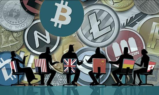 Освоение и применение криптовалюты в различных странах