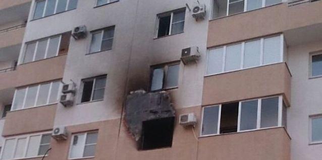 Пожар на мини ферме в Новороссийске