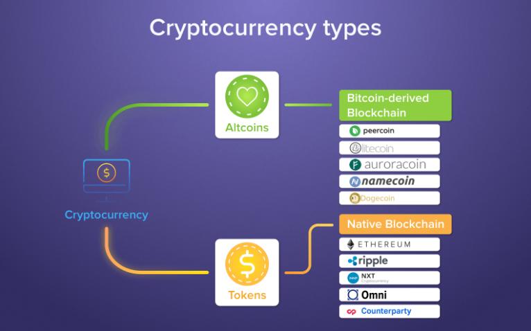 Что такое криптовалюта и чем она отличается от токена