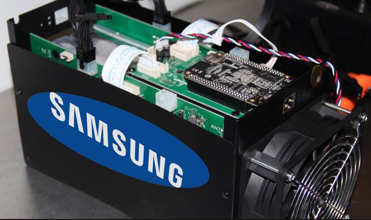 Рост доходов, за счет продаж комплектующих для майнинга вкомпании Samsung Electronics