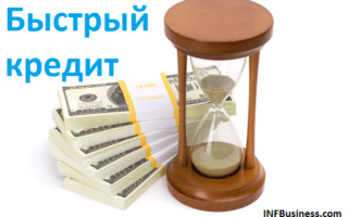 Быстрый кредит - как его получить и какие у него недостатки?