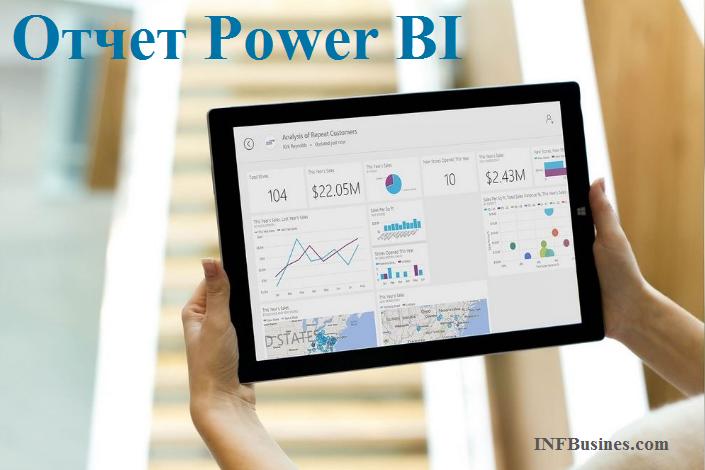 Особенности составления отчетов Power BI
