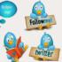 Набрать читателей в Твиттере – бесплатно и быстро