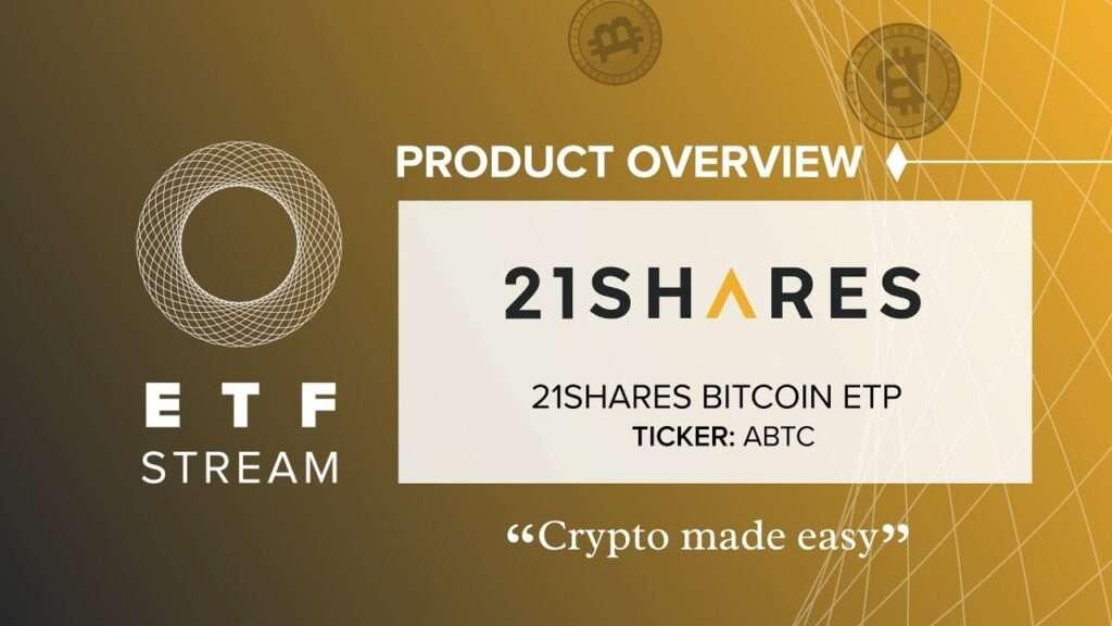 Швейцарская компания 21Shares, ранее известная как Amun, заявила, что сделает свой биржевой продукт Bitcoin (BTC) доступным для трейдеров в Великобритании через биржу Aquis.