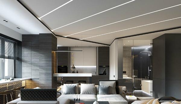 Натяжные потолки: главные тенденции в дизайне